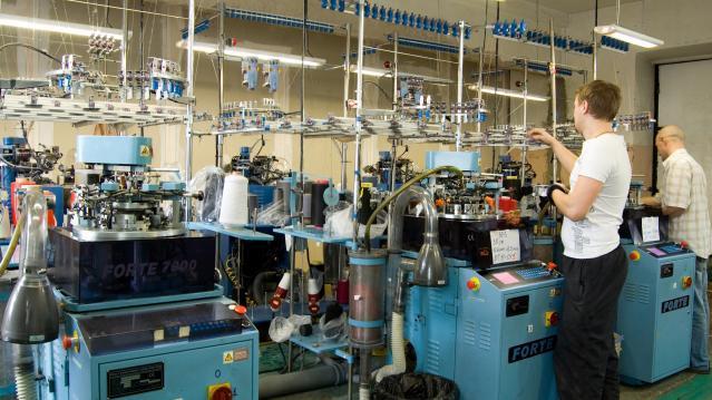Завод по производству носков